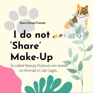 NO SHARE, NO WEAR on Lab Animal Tested Products